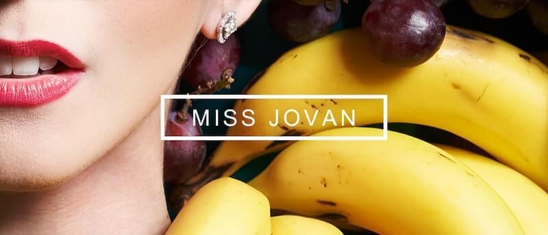 BANNER MISS JOVAN
